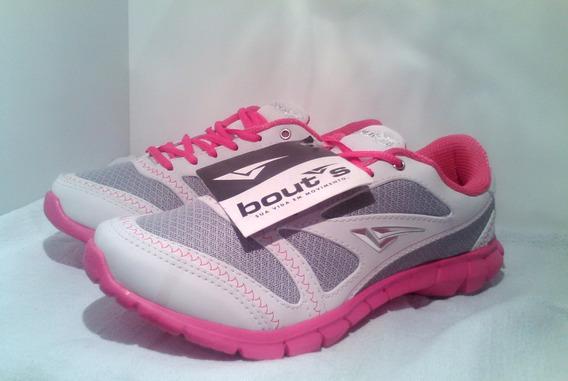 Tênis Bouts Branco Com Pink - 39.