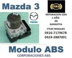 Modulo Abs Mazda 3 Reparacion