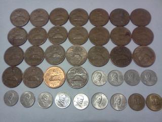 Coleccion Monedas Antiguas De 20 Cvs. Serie De 1943 A 1984