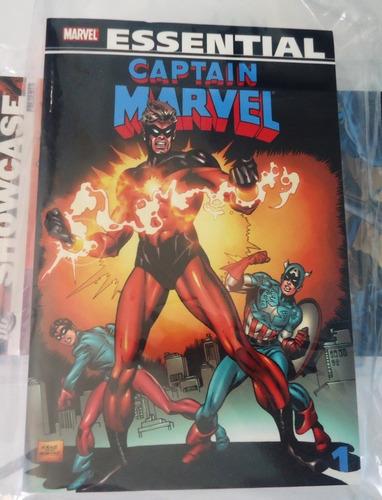 Essential Captain Marvel, Vol. 1 (marvel Essentials), 512 Pg