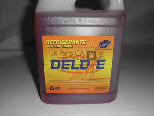 Refrigerante 1ltr Anticorrosivo Deldxe Rojo
