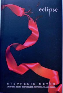 Libro Eclipse Stephenie Meyer Saga Crepúsculo Nuevo Original