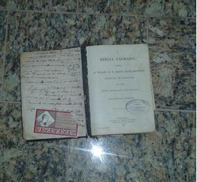 Antiguidades Arremates Bíblia Sagrada De 1901
