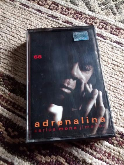 La Mona Jimenez Adrenalina 66 Cassette Nuevo!!