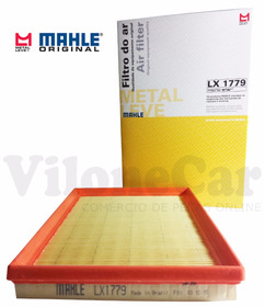 Filtro Ar Mahle Lx1779 Gol G4 G5 G6 1.0 Fox 1.0 Voyage 1.0