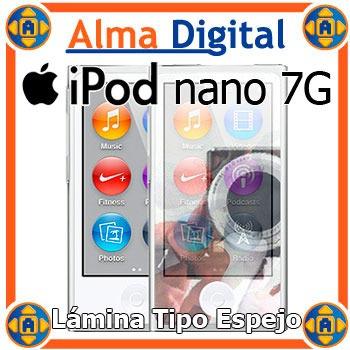 Lamina Protector Pantalla Espejo iPod Nano 7 7g Mirror Paño