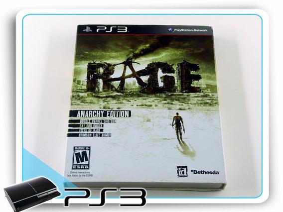 Ps3 Rage Anarchy Edition Original Playstation 3