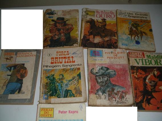 Lote 8 - 8 Livros De Bolso - Diversos