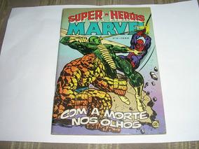 Super-herois Marvel Nº 18 Editora Rge Semi-novo Frete Grátis