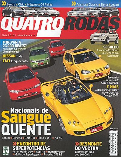 4r.568 Ago07- Golf Civic Mégane Sentra Jaguar Pors911 Veyron