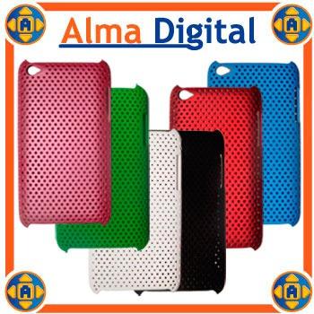 Carcasa Plastica Perforada iPod Touch 4g Estuche Forro