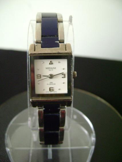 Relógio De Pulso Feminino Mirvaine Swiss Quartz