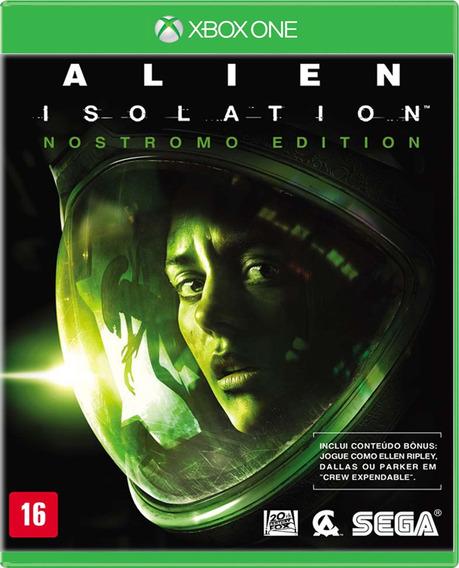 Alien Isolation - Nostromo Edition - Xbox One - S. G.