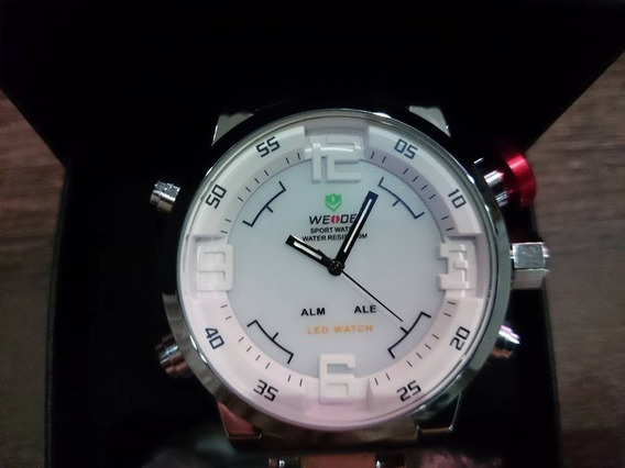 Relógio Militar Weide Digital Led Quartzo