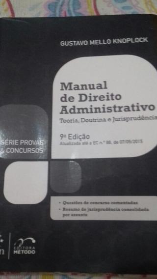 Manual De Direito Administrativo Gustavo Knoplock