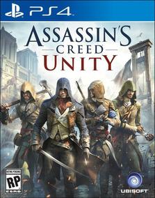 Assassins Creed Unity - Ps4 - Pt-br - Vaga Primária