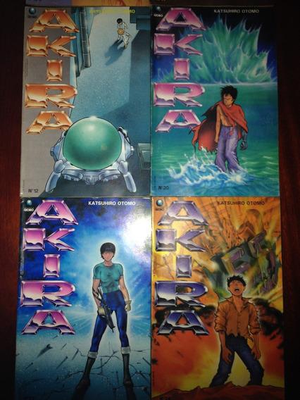 Akira Números 9, 11, 12, 20, 23 E 24, Raros, Mangá Ed. Globo