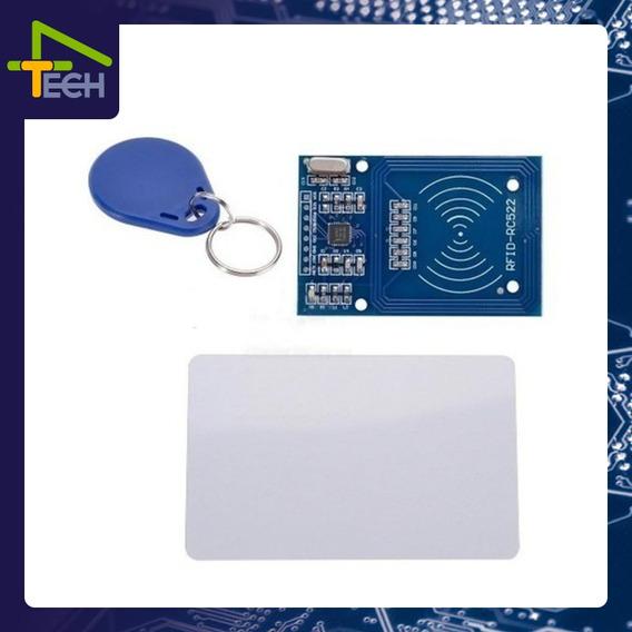 Kit Módulo Leitor Rfid Mfrc522 Arduino