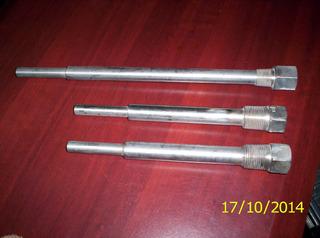 Termopozos Inox De 9 Ò 12 Long Rosca Int Y Externa 1/2