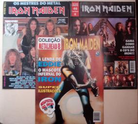 Coleção De Revistas E Posters Iron Maiden