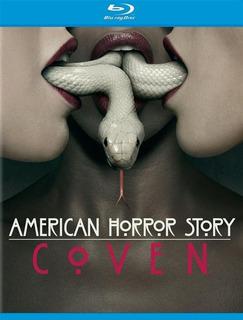 Blu-ray American Horror Story Coven Season 3 / Temporada 3