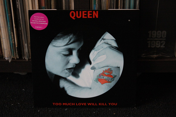 Queen Too Much Love Will Kill You Raro Ep Freddie Mercury Lp