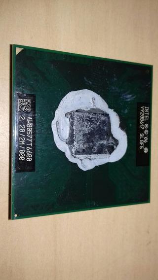 Processador Intel Core2duo Aw80577t6600 2.20/2m/800
