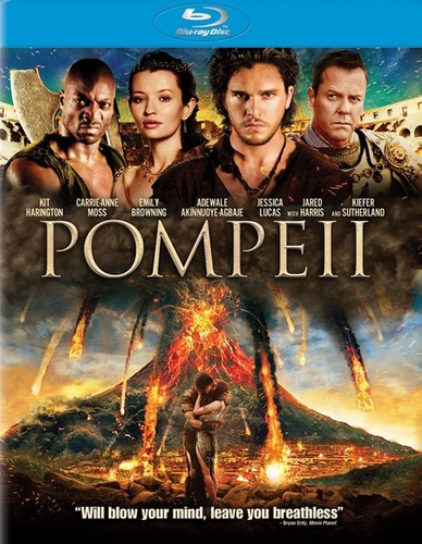 Imagen 1 de 3 de Blu-ray Pompeii / La Furia Del Volcan