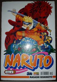 Mangá Naruto Nº 8 Masashi Kishimoto Panini Comics 2007
