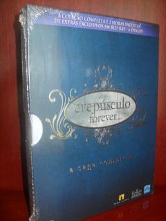 Blu-ray Crepúsculo Forever A Saga Completa 6 Discos Lacrado