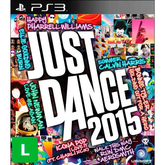 Jogo Novo Lacrado Da Ubisoft Just Dance 2015 Para Ps3