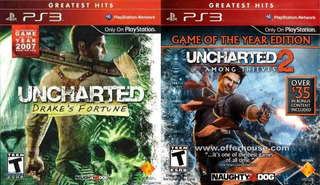Uncharted Dual Pack Drake Fortune Among Thielves Complet Ps3