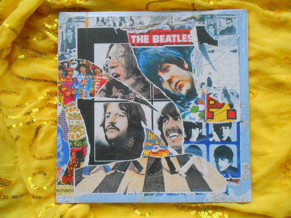 Lp Tripolos The Beatles P/1996- Beatles Anthology