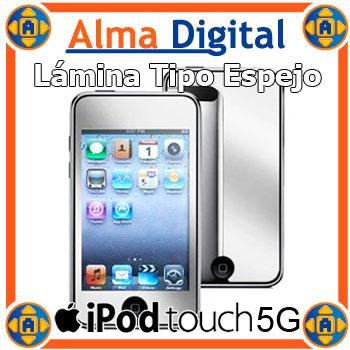 Lamina Protector Pantalla Espejo Para iPod Touch 5 5g Mirror