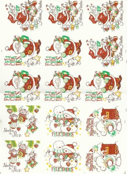 Calcos Vitrificables Navidad