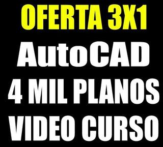 Programa Autocad + Planos + Curso 2d-3d