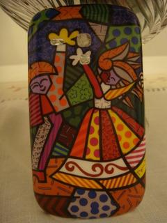 Capa Case Celular Samsung S3 Mini I 8190 Romero Britto
