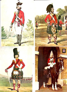Lote De 8 Cartões Postais De Tema Militares -