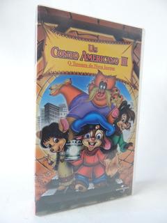 Filme Vhs - Disney - Um Conto Americano 3 - Dublado (r 3)