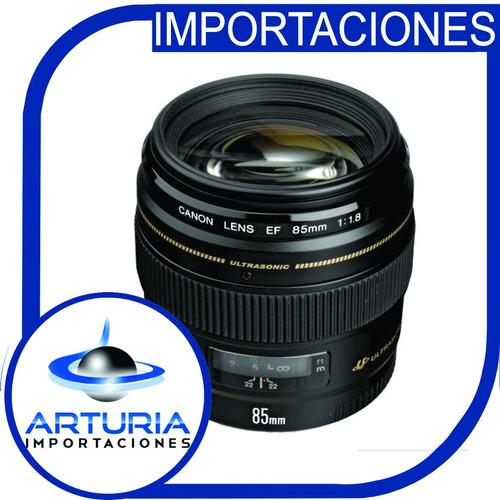 Lente Canon 85mm Lente F/1.8 Usm