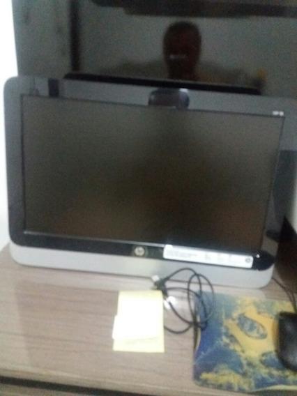 Computador All In One Hp 4g Com Impressora E Estabilizador