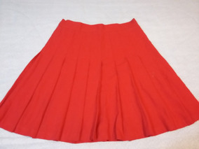 c3166032c2 Falda Ivonne Tableada Color Rojo Talla 11-12.