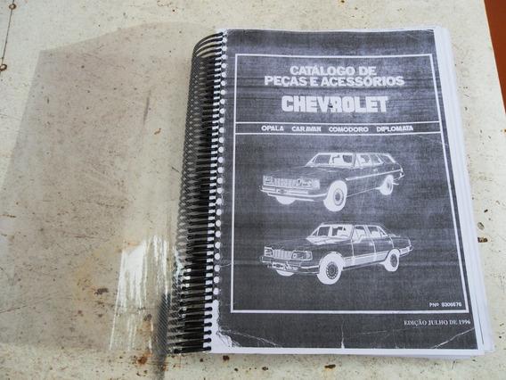 Catálogo De Peças Chevrolet Opala Caravan Edição 1996 Copia
