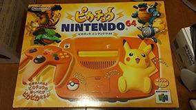 Nintendo 64 Pikachu Laranja+10 Jogos De Brinde