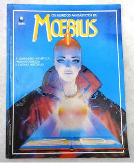 Os Mundos Fantásticos De Moebius - Edição Encadernada - 1992