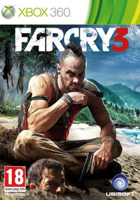 Jogo Midia Fisica Legendado Lacrado Ntsc Farcry 3 Xbox 360