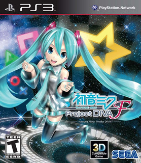 Hatsune Miku Project Diva F Ps3 Digital Gcp