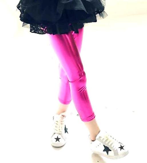 Leggings Metalicos Para Jovencitas Tallas * Legging