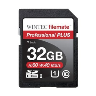 Filemate Wintec Professional Plus 32gb Uhs-i Tarjeta Sdhc C1