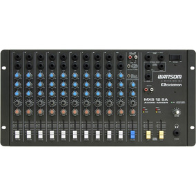 Mesa De Som Ciclotron Stereo 12 Canais Mxs 12 Sa Wattsom